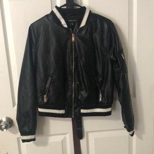 A black jacket